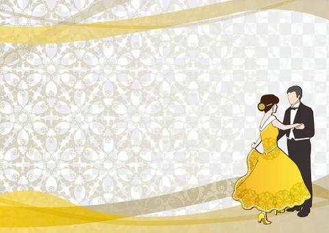 舞廳舞_背景5黃色
