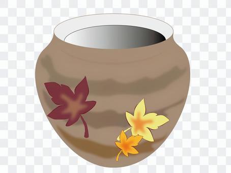花瓶(楓木)