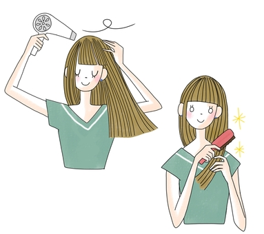 Hair care women color