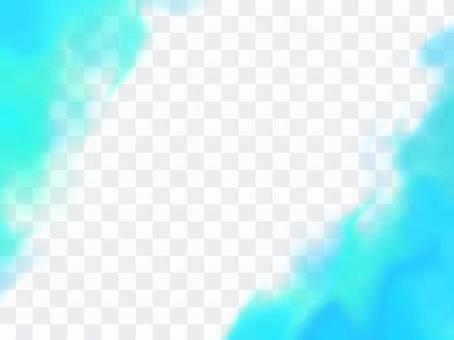 火燃燒背景藍色