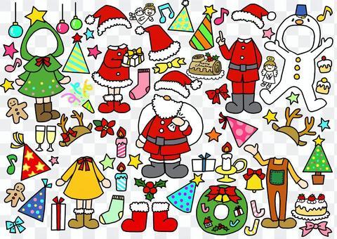 打扮聖誕服裝
