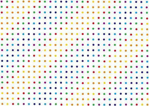 彩虹五顏六色的圓點樣式/光點圖形背景圖片☆
