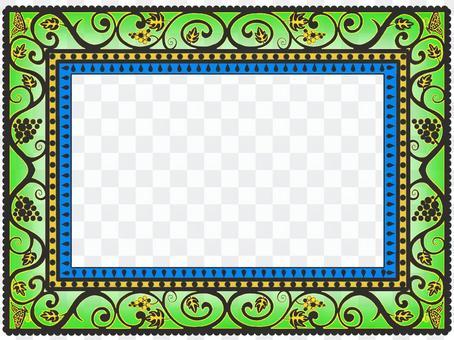 阿拉伯風格的畫框