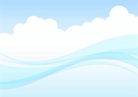 曲線和雲2