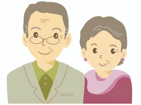 年長的夫婦
