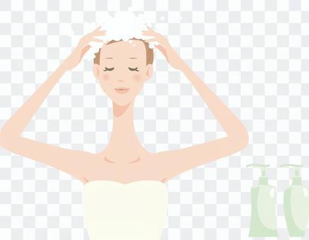 婦女_洗髮水