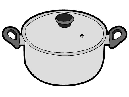 Pot (steel color)