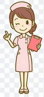 女性(看護師):C_ポイント01FS