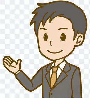 男(辦公室工作人員):B_信息05 BS