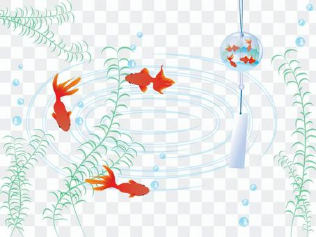 風鈴和金魚