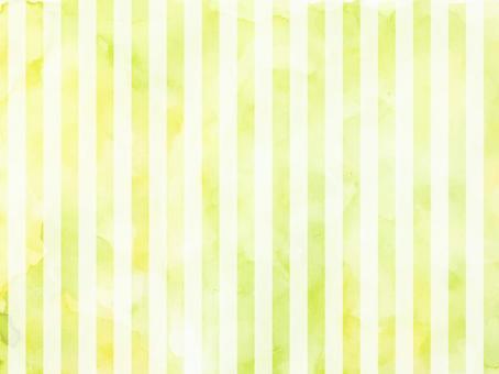 水彩條紋綠色