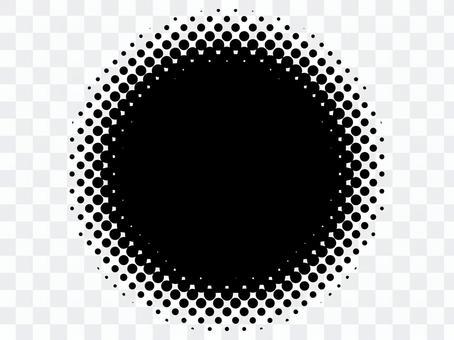 半色調圓點