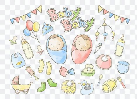 赤ちゃんの育児用品