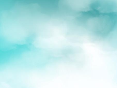 背景水彩藍藍的天空聚焦