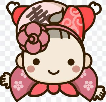 Issho Mochi_Girl