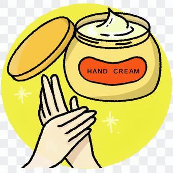 Hand cream ③