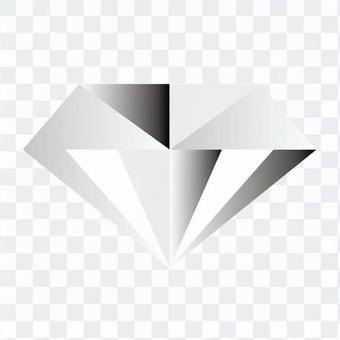 鑽石 - 白色