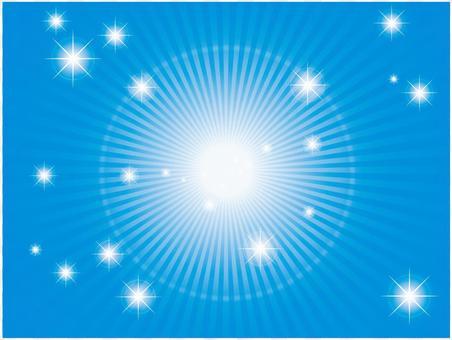 徑向燈(藍色)