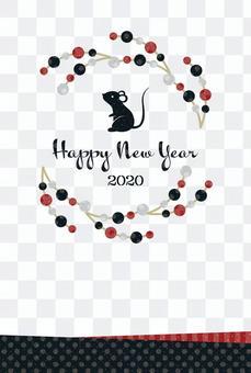 新年卡_冬天的孩子_ 2020年新年041