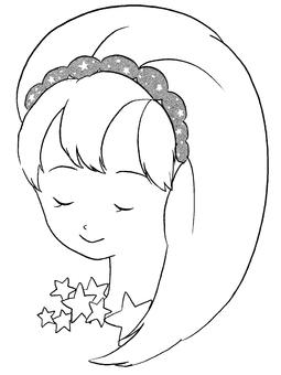 Aquarius-pen drawing