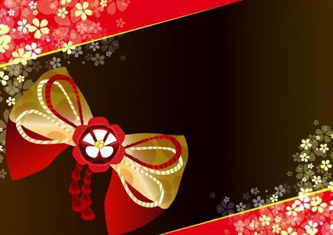 Japanese style ribbon