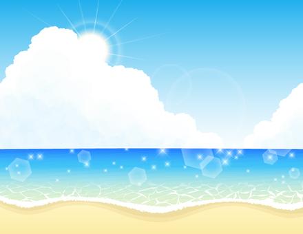 海2_太陽 海