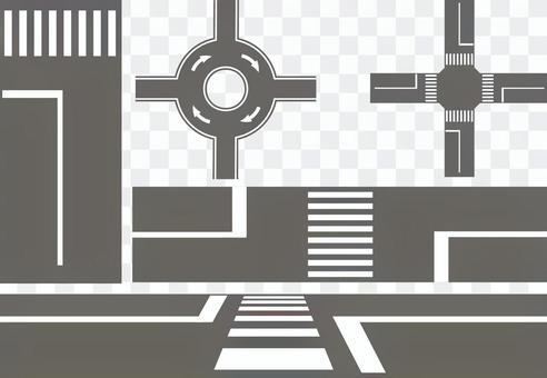 交叉口和人行橫道