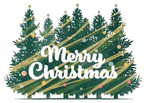 Merry Christmas character illustration