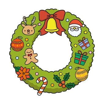 聖誕花環(基本款)