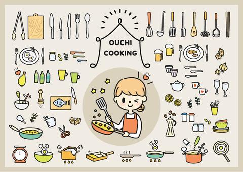 廚房工具摘要圖