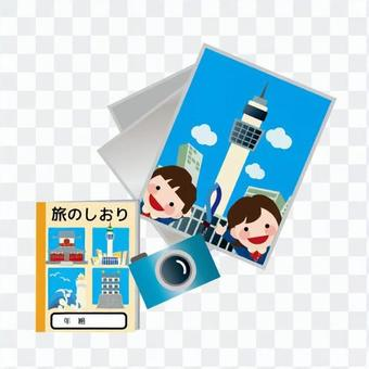 Travel bookmarks and photos