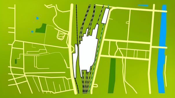 品川站周邊地圖