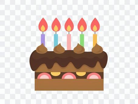 生日蛋糕(巧克力)