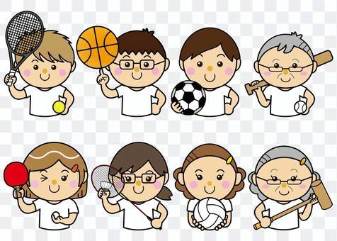 男女29_32(スポーツ・セット)