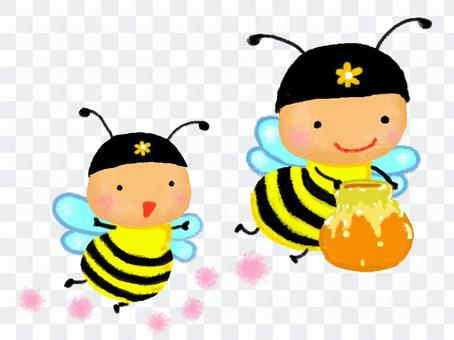 Honeybee broth