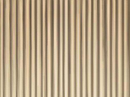 閉合的窗簾米色