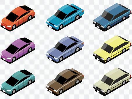 自動車-2(乗用車セット)