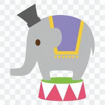 Circus elephant 4