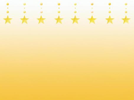 星 背景 黄色