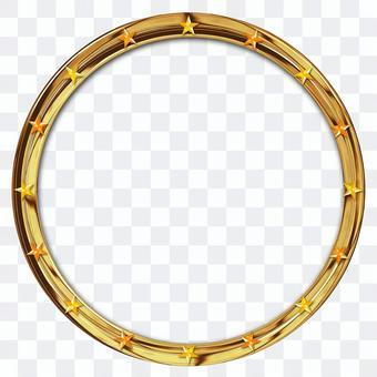 與明星的金屬框架