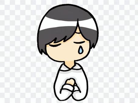 哭泣的人/彩色版本
