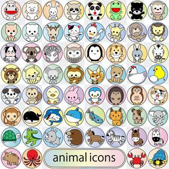 60動物圖標集02