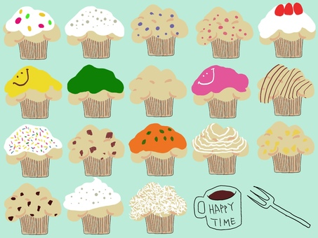 Cup cupcakes, mafi mafi muffins