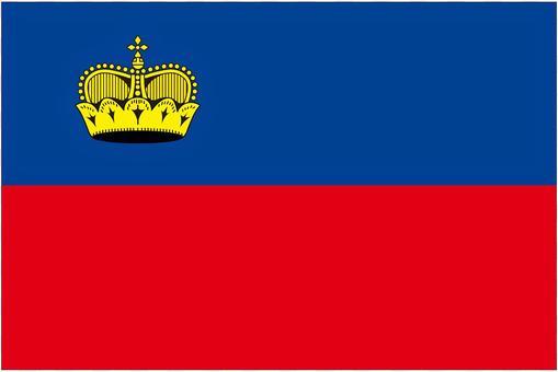 列支敦士登國旗