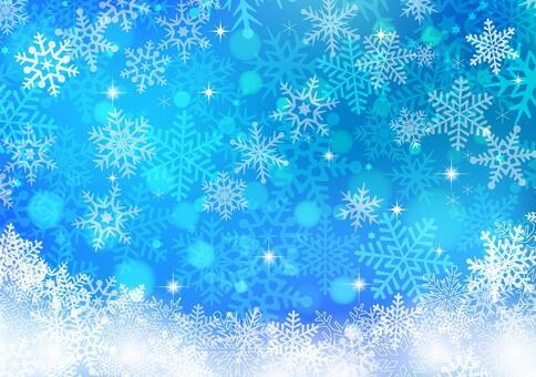 冬天背景材料04