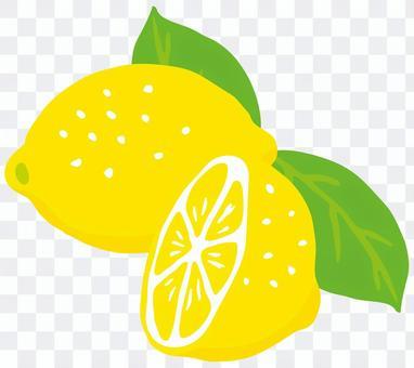 檸檬一半<葉>