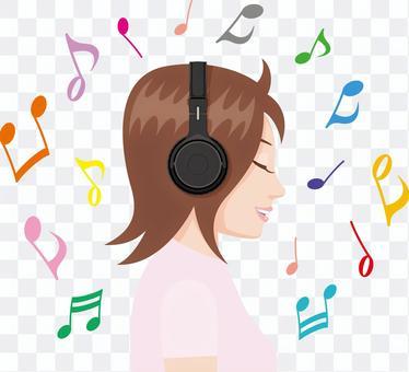 Headphone female