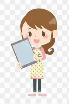 家庭主婦A *平板電腦04