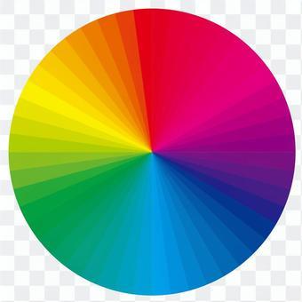 色環中的48種顏色