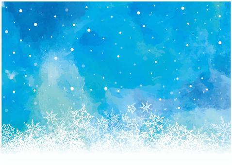冬天背景03